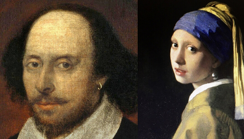 Shakespeare and the Girl with the Pearl Earring
