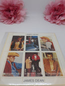 James Dean - 6 Russian Stamps NEW USED - In Package
