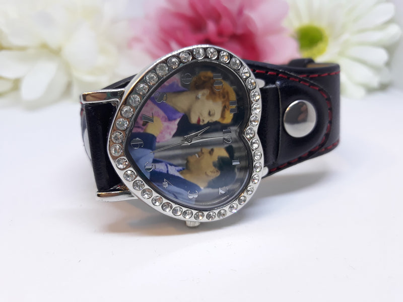 Lucille Ball - Desi Arnaz (I Love LUCY) Watch - New Old Stock in Box - Needs New