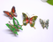 Vintage Butterfly Brooches - many styles, colours, Ready to Ship, Gorgeous