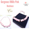 1960s CORO Pink Thermoset Necklace, Gorgeous