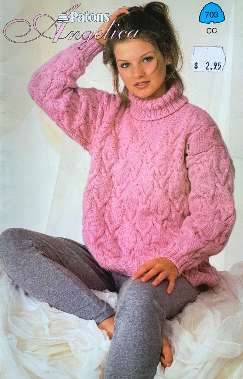 Beehive and Paton Vintage Knitting Pattern Booklets - Four Pack
