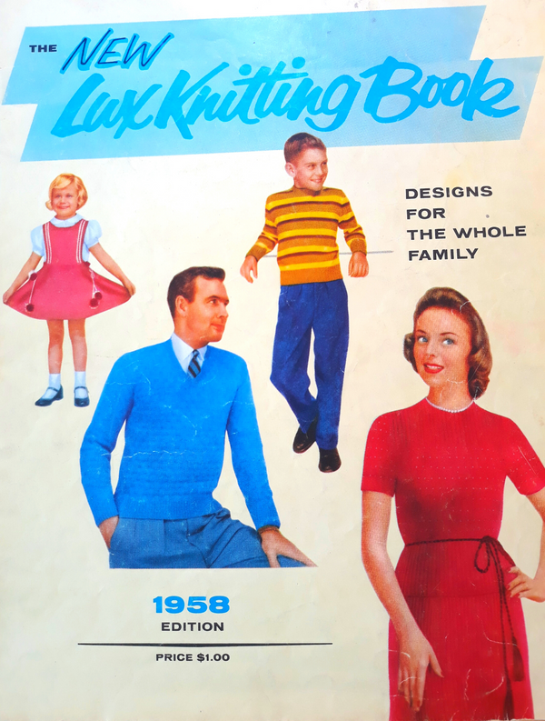 The New Lux Knitting Book 1958 - Designs for the Whole Family