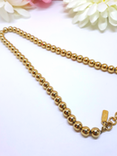 1960s MONET Gold Tone Beaded Necklace