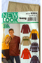 New Look 6328 Uncut Sewing Pattern His and Hers, Match Size XS-XL