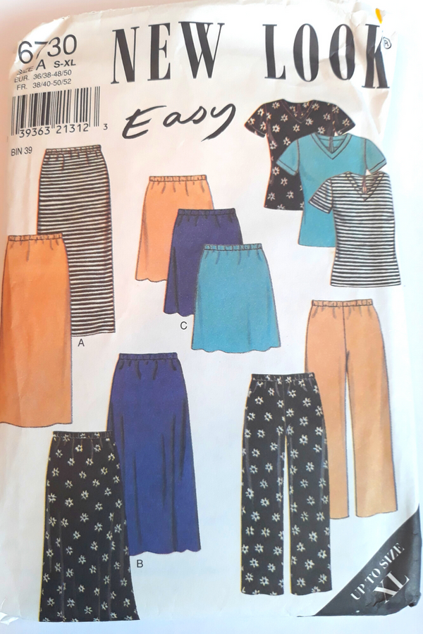 New Look 6730 Ladies Summer/Spring Pattern S-XL Uncut