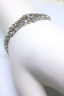 Vintage Specialty Rhinestone Bracelet - Ideal for a Vintage Wedding