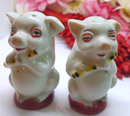 1950s Made in Japan Salt and Pepper Shakers - MCM Collectible