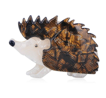 Vintage Inspired Large Porcupine Brooch