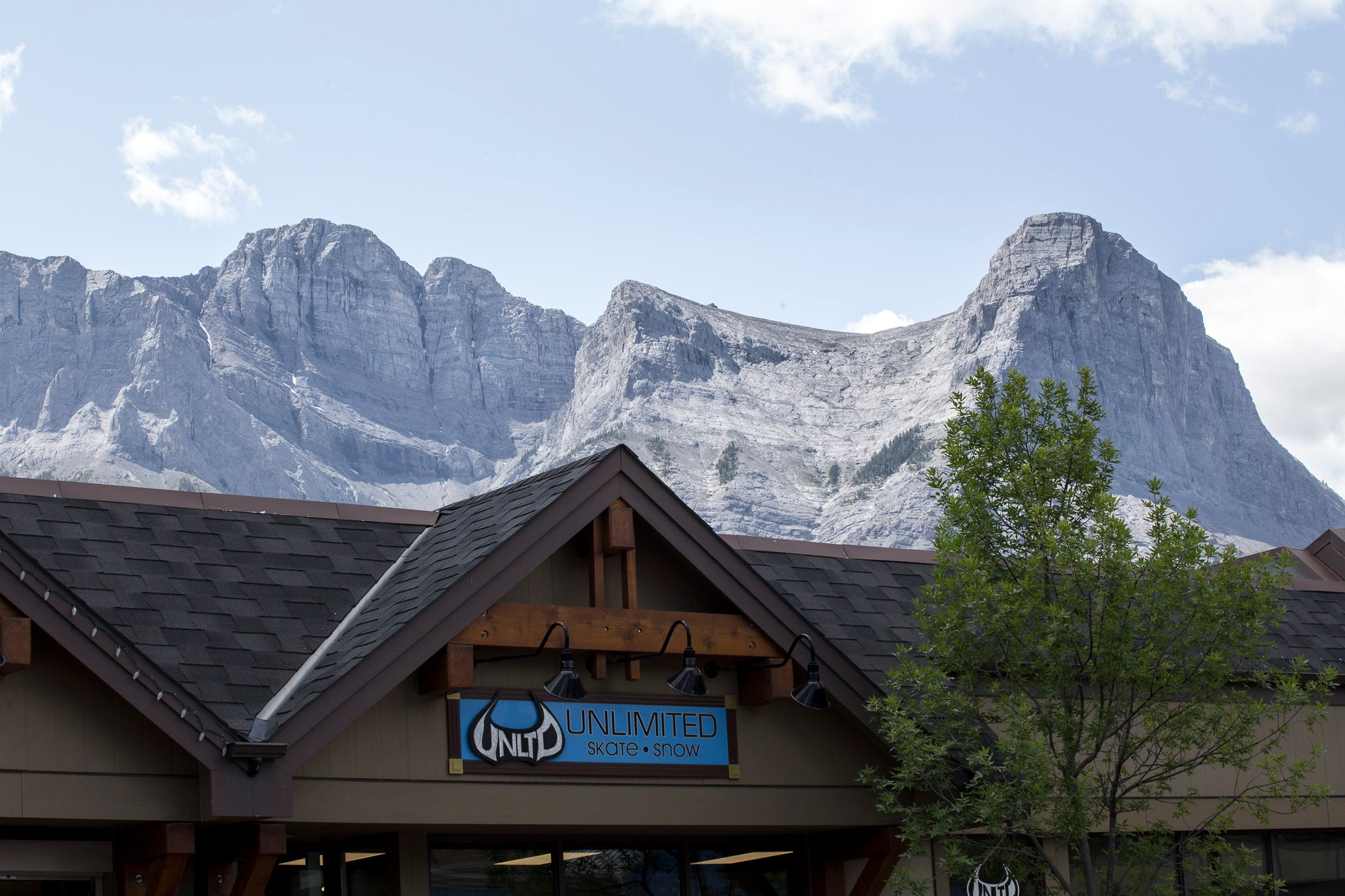 Fashion with a different attitude. Our Canmore location.