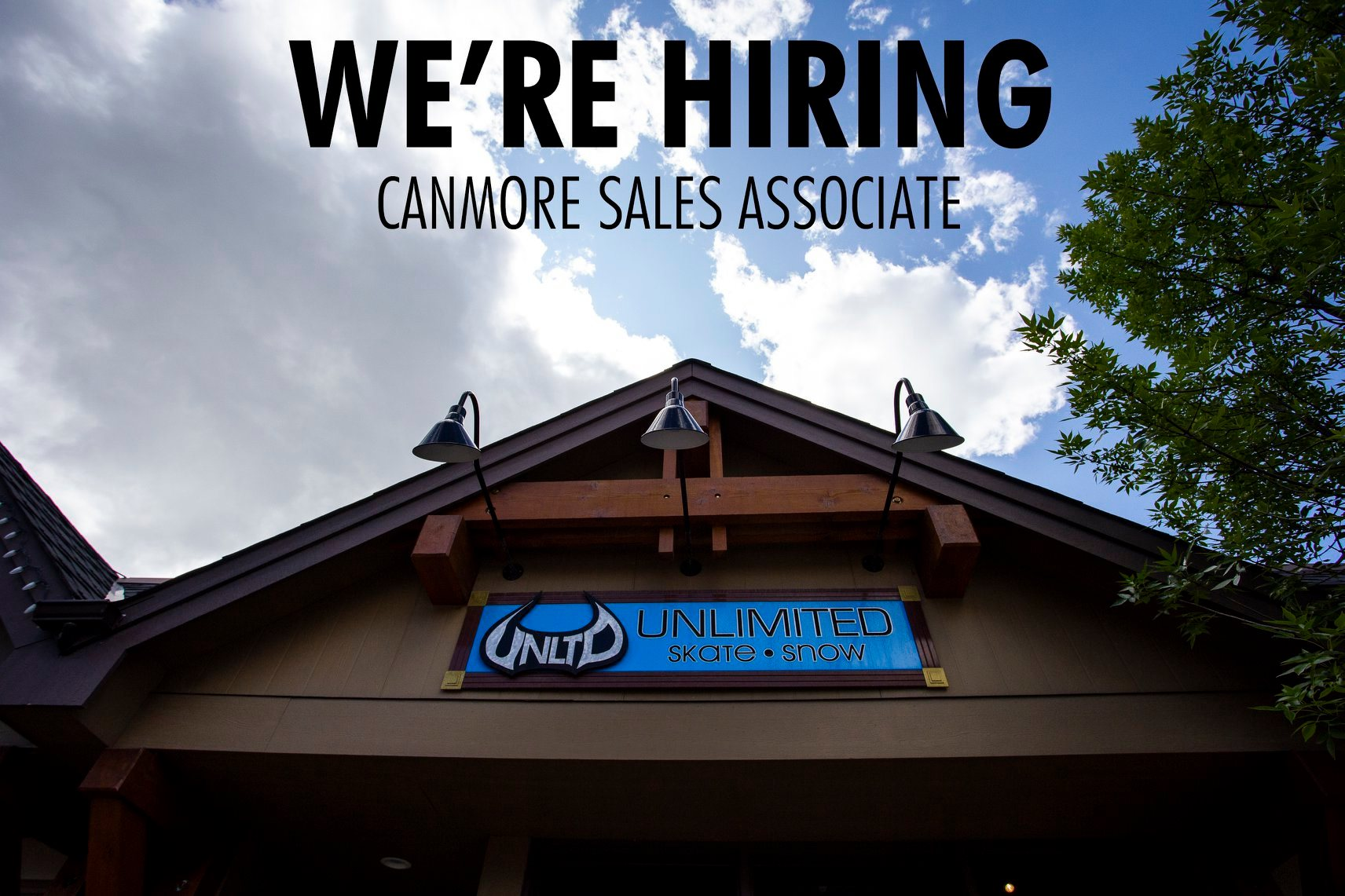 We're Hiring - Canmore Sales Associate