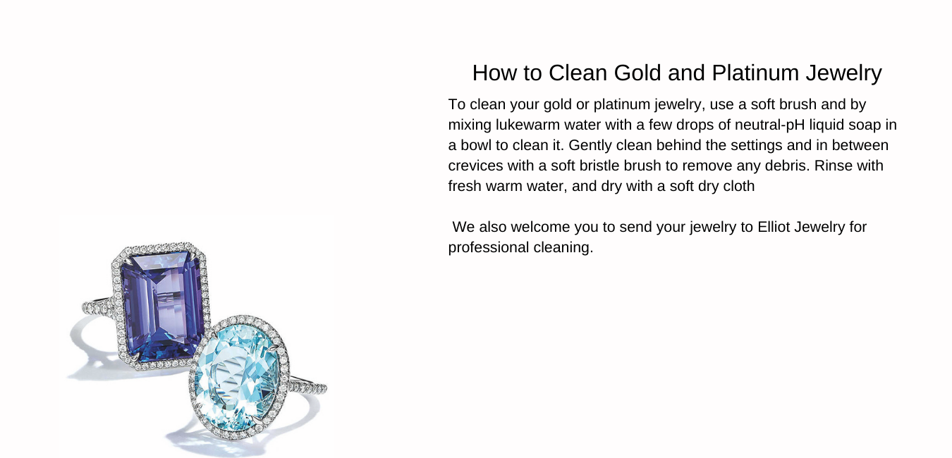 Jewelry Care and Services