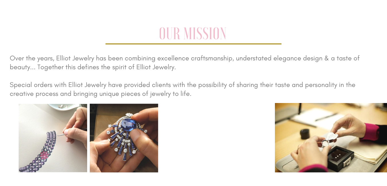 Our Mission | Elliot Jewelry