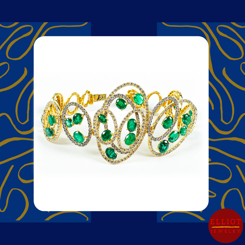 Emerald Bracelet | Elliot Jewelry
