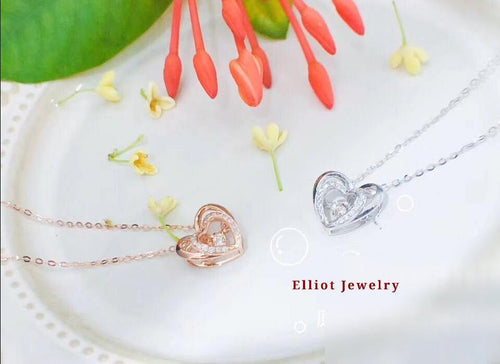 Diamond Heart Pendent - Elliot Jewelry