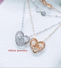 Load image into Gallery viewer, Diamond Heart Pendent - Elliot Jewelry