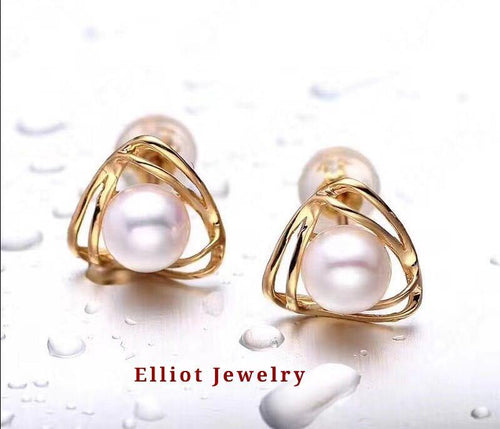 Pearl Earring - Elliot Jewelry