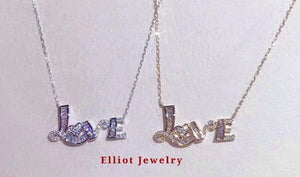 Diamond Pendent in 18K Gold - Elliot Jewelry
