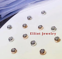 Load image into Gallery viewer, Donut Diamond Pendent in 18K Gold | Elliot Jewelry