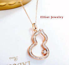 Load image into Gallery viewer, Diamond Necklace in 18K Gold | Elliot Jewelry