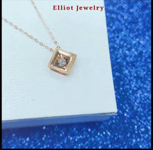 Load image into Gallery viewer, Diamond Pendent in 18K Gold | Elliot Jewelry