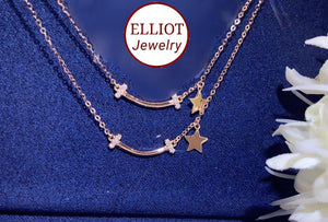 Diamond Pendent in 18K Gold | Elliot Jewelry