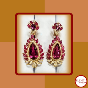 Earring | Colorful Gems Collection | Elliot Jewelry