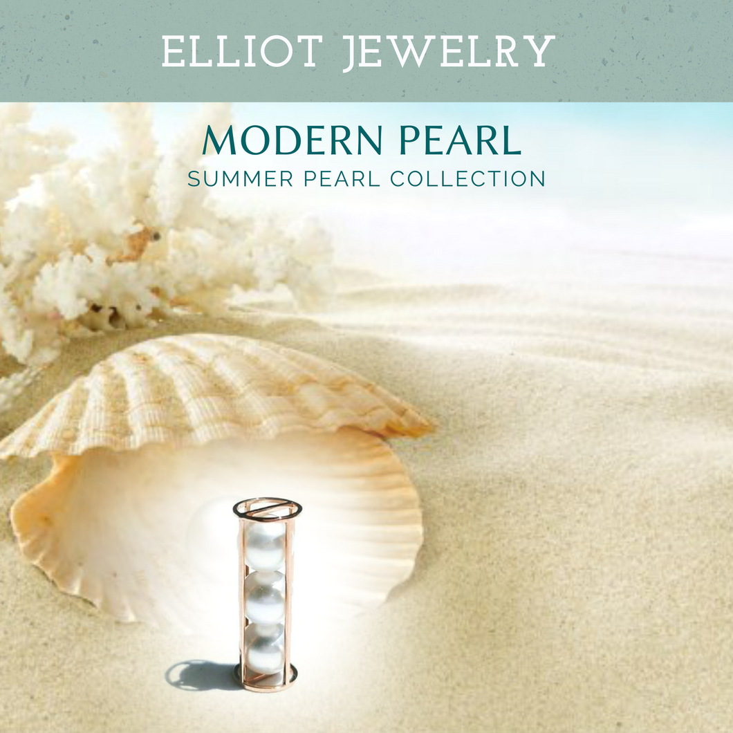 Roller Pearl Pendent | Elliot Jewelry
