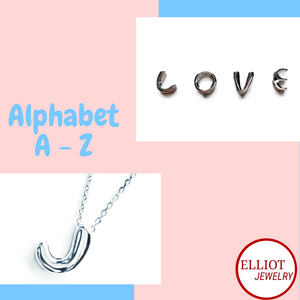 Alphabet Pendant | Elliot Jewelry