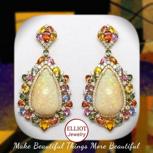 Earring | Colorful Gems Collection - Elliot Jewelry