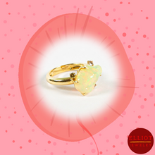 Load image into Gallery viewer, Fire Opal Ring | Elliot Jewelry