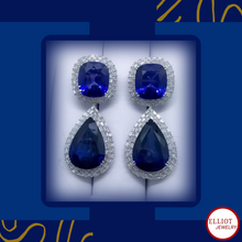 Load image into Gallery viewer, Earring | Blue Sapphire | Elliot Jewelry