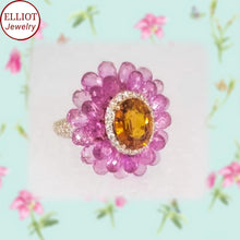 Load image into Gallery viewer, Colorful Gemstone Ring | Elliot Jewelry - Elliot Jewelry