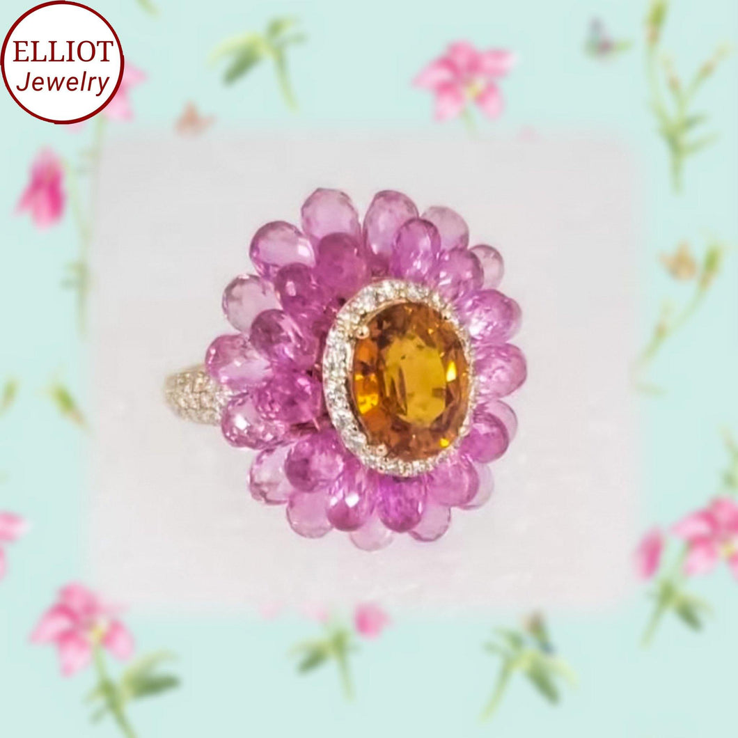 Colorful Gemstone Ring | Elliot Jewelry - Elliot Jewelry