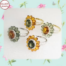 Load image into Gallery viewer, Colorful Gemstone Ring | Elliot Jewelry | Elliot Jewelry
