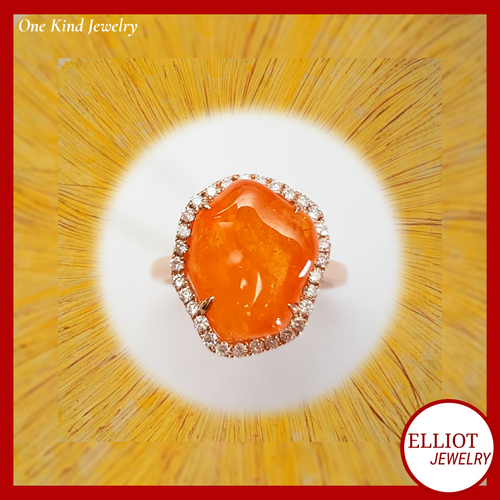 Spessartine Ring | Elliot Jewelry | Elliot Jewelry