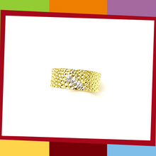 Load image into Gallery viewer, The Manta Silver Collection, BOLD Ring.   Manta Bold Ring | Elliot Jewelry  925 Silver coated with Yellow and White Gold