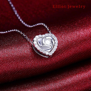 Love Diamond Pendent - Elliot Jewelry