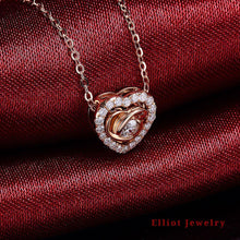 Load image into Gallery viewer, Love Diamond Pendent - Elliot Jewelry