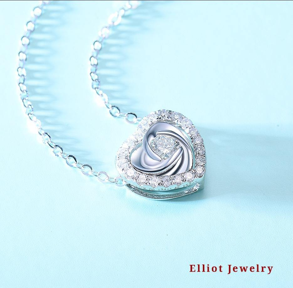 Love Diamond Pendent | Elliot Jewelry
