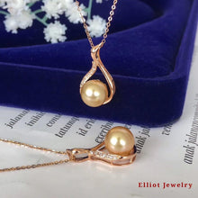 Load image into Gallery viewer, Pearl Pendent with Diamond | Elliot Jewelry