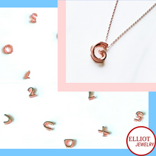 Load image into Gallery viewer, Alphabet Pendant | Elliot Jewelry