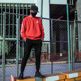 K0314 Red Tech Sweater - Fabric of the Universe
