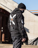 X-CORE R Black Heavyweight Hoodie