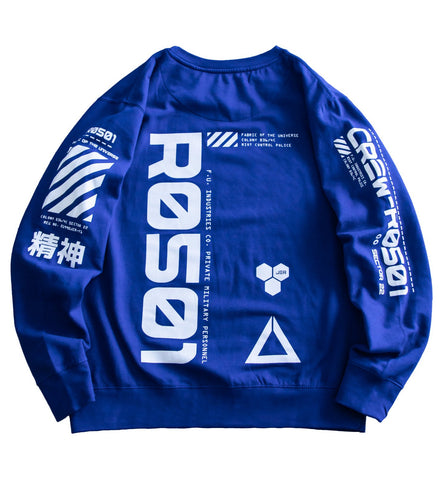 R0501 Blue Tech Sweater - Fabric of the Universe