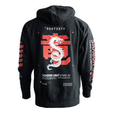 Dragon Unit R1 Black Hoodie