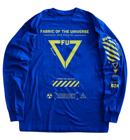 T-03/BY Long Sleeve T - Fabric of the Universe