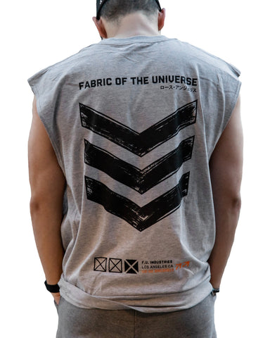 V3-02/GB Sleeveless T - Fabric of the Universe