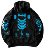 VRTB-01B Black Hoodie - Fabric of the Universe