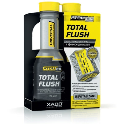 Atomex Total Flush - oil system cleaner
